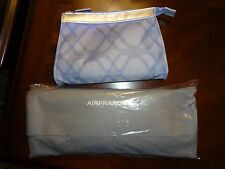 AIR FRANCE AIRLINE BUSINESS CLASS AMENITY KIT WITH SLIPPERS - NEW & SEALED