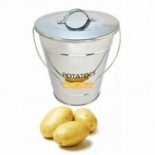 Eddingtons Stainless Steel Potato Storage Bucket / Pail
