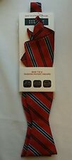 BERGAMO NEW YORK Neck Dress Bow Tie & Fashion Pocket Square Set. New With Tags