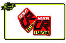HONDA 1979 CR125R ELSINORE SIDE PANEL MOTOCROSS MX GRAPHICS DECALS STICKERS
