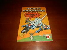 Transformers G1 (Laserbeak's Fury) Ladybird Book From the UK...