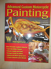 ADVANCED CUSTOM MOTORCYCLE PAINTING BOOK MANUAL GUIDE AUTOMOTIVE MOTORBIKE CYCLE