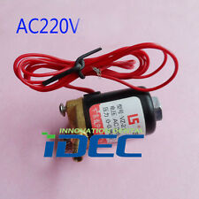 Dental Solenoid Valve Electric solenoid valve for dental Water Tank AC220V 1PC