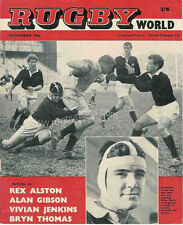 RUGBY WORLD MAGAZINE THE PERFECT GIFT FOR A RUGBY FAN BORN IN SEPTEMBER 1964