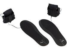 2x Beheizte Schuhsohlen beheizbare Schuh Einlege Sohlen