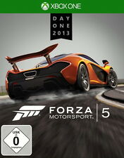 Forza Motorsport 5 -- Day One Edition (Microsoft Xbox One, 2013, DVD-Box)