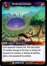 WOW WARCRAFT TCG WAR OF THE ANCIENTS : NETHERPOCALYPSE X 4