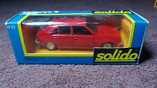 SOLIDO ,OLD ,FRANCE ,DIECAST ,GAM1, NO43, RED RENAULT 14, NEW IN BOX ,RARE