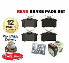 FOR VOLKSWAGEN VW PASSAT 2.0 2000-2005 NEW REAR DELPHI BRAKE DISC PADS SET
