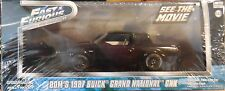 Green Light 1:43 scale Fast & Furious Dom's 1987 Buick Grand National GNX