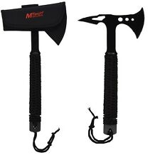 "15"" Survival Tactical Throwing Tomahawk Hatchet Handle Axe Outdoor Cutlery Knife"