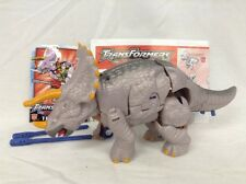Transformers Armada Triceradon Dinobot complete figure Triceratops universe