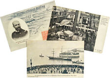 1903 Antarctic - SWEDISH and ARGENTINE RELIEF EXPEDITIONS - Postcard Photographs
