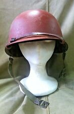 WWII Era U.S. M1 Helmet - SCHLUETER U.S. NAVY DAMAGE CONTROL PARTY!
