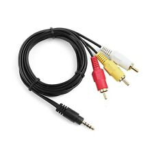 AV A/V TV Cable Cord Lead For JVC Everio GR-D870 GR-D860 GR-D850 GR-D825 U/US/E