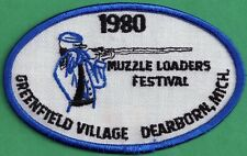 Pa Pennsylvania Game Commission Related NEW 1980 Muzzleloader Festival Patch