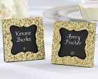 48 All That Glitters Gold Glitter Square Photo Frame Wedding Favors