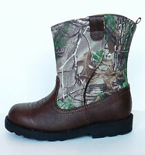 NEW Childrens Toddler Camo Hiking Boots Size 6  Boys Girls Realtree Cowboy Shoes