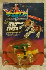 Voltron Motorized Lion Force Green Yellow Lion Vintage 1984 Sealed On Card