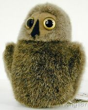 KOSEN MADE in GERMANY NEW Young Baby Owl Plush Toy