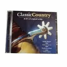1038 // CLASSIC COUNTRY DOUBLE CD 43 TITRES - CD NEUF