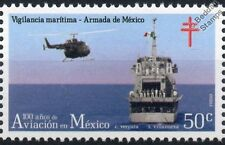 MBB Bo105 Navy Helicopter Aircraft Stamp (100 Years of Aviation in Mexico)