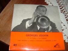 """GEORGES JOUVIN """" CORE 'NGRATO - TORNA A SURRIENTO-GRANADA -JAVA """" E.P.  ITALY'59"""