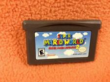 Super Mario World 2 Nintendo Game Boy Gameboy Advance Super Fast FREE SHIP!