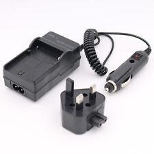 Battery Charger for HITACHI HDC-1087E HDC-1296 HDC-1296E HDC-1097E Camera AC+CAR