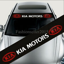 Car Styling Front Windshield Banner Decal Car Stickers for KIA Accessories Decor