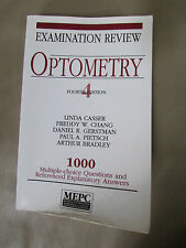 Optometry Examination Review (4th Edition) by Casser, Linda/ Chang, Freddy W....