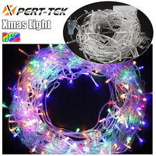 10M 100LED Multi-Color String Fairy Lights Party Christmas Decor Outdoor Indoor