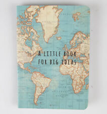 VINTAGE MAP BIG IDEAS POCKET SIZE MEMO SHOPPING LIST TRAVEL NOTEBOOK Bargain