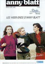 Anny Blatt Knitting Magazine No 99 - 24 Patterns Les Week-ends D'Anny Blatt
