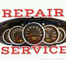 1997 to 2004 Porsche 911,  Instrument Cluster REPAIR SERVICE Speedometer repair