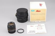 【A- Mint in Box】 Leica SUMMILUX-M 50mm f/1.4 E43 MF Lens Germany From JAPAN#2311