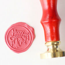 Merry Christmas Wax Seal Stamp winter holiday gift  seals invitation seal stamp