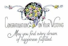 Congratulations on Your Wedding : May You Find Every Dream of Happiness...