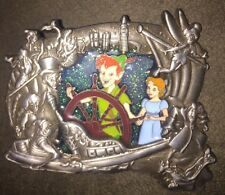Disney Pin Wdi Stained Glass D23 Expo Peter Pan Wendy 2015 Le 300