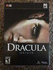 Dracula Origin 3D Bram Stoker - PC XP/Vista