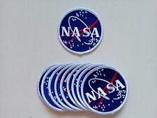"10 USA NASA Embroidered Patches 3"" Diameter"