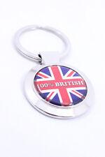 British Keyring Union Jack 100% British UK Gifts Britain Keychain GB