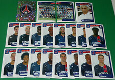 PANINI FOOTBALL FOOT 2005 PARIS SAINT-GERMAIN PSG COMPLET FRANCE 2004-2005