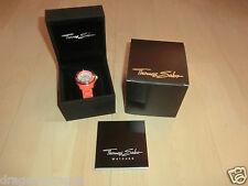 Thomas Sabo reloj de pulsera-It Girl glam & Soul Orange, OVP & nuevo