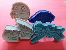 Star Wars Space Craft Cookie Cutter Space Ship Death Star X-Wing 4pcs