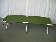 British Army - Military - Heavy Duty Aluminium Frame Folding Camp Cot Bed Mk3