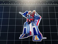 Transformers G1 Starscream box art vinyl decal sticker Decepticon jet toy 1980's