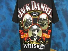 vintage 90s JACK DANIEL'S TENNESSEE SOUR MASH WHISKEY T-Shirt XL beer alcohol