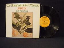 Joel Fajerman – La Aventura De Las Plantas ' LP MINT SPAIN PRESS 1982