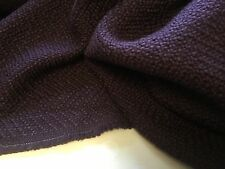 "New Mulberry Colour Wool Boucle Fabric 57"" 146cm"